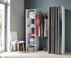 Barre De Penderie Ikea : d co des id es pour emm nager un dressing dans une chambre ~ Preciouscoupons.com Idées de Décoration
