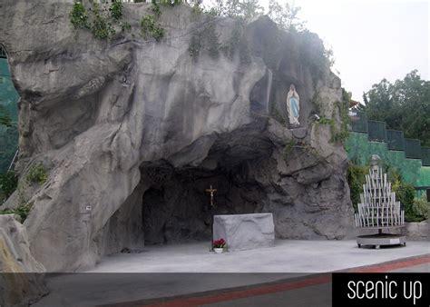 grotte  lourdes  roccia artificiale scenic