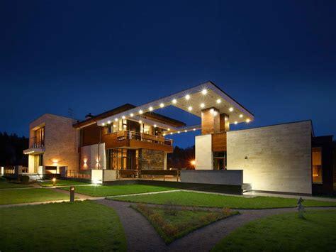 modern  mansion  moscow  fourth dimension
