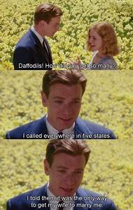 """big fish """"They say when you meet the love of your life ..."""