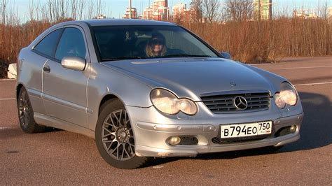 mercedes w203 coupe mercedes w203 sport coupe б у тест с алексеем via atdrive