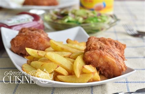 pate a fish and chips recette fish and chips amour de cuisine