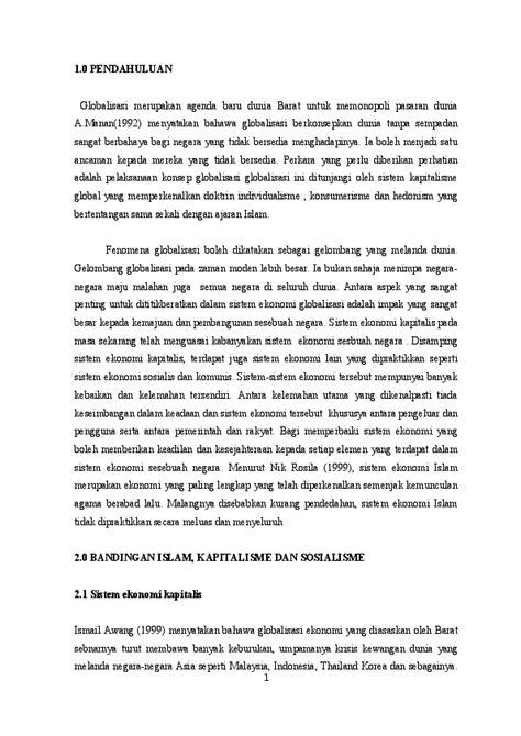 ekonomi Islam, sosialis n kapitalis | Wafa Hami - Academia.edu
