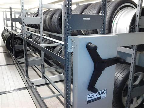 porsche dealership revs  tire storage spacesaver