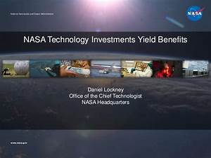 NASA Technology Investments Yield Benefits