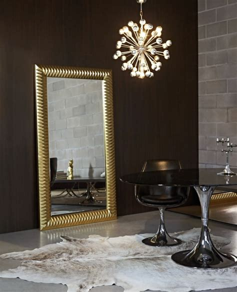 espejos decorativos  sala  comedor ideas
