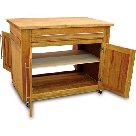 Catskill Craftsmen Empire Kitchen Island With Two Pull Out