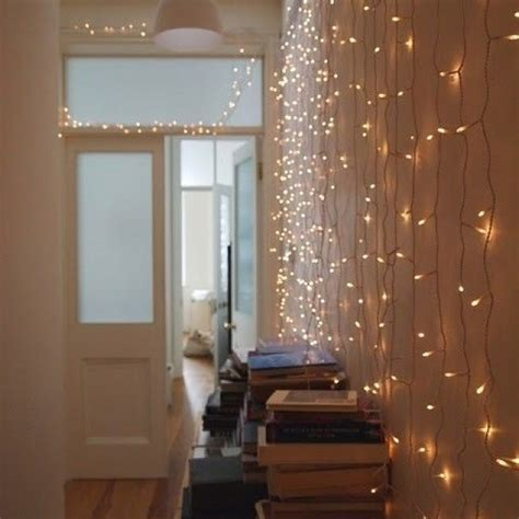 indoor fairy lights teenage girls  bedroom ideas