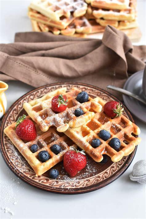 Classic Waffles Recipe Recipe - Cook.me Recipes