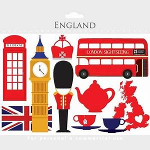London clipart - England clip art, travel, UK, tea, bus ...