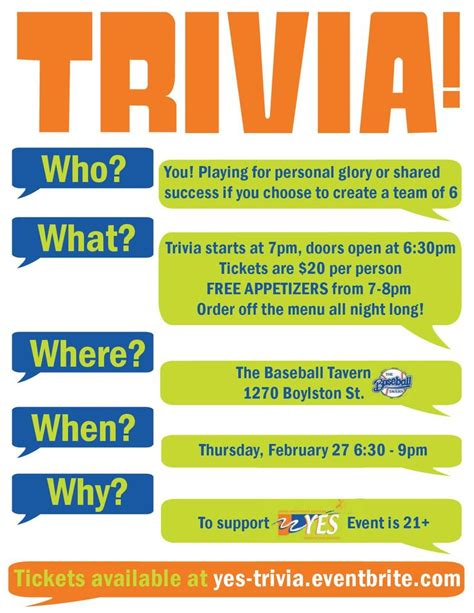 trivia night flyer templates trivia invitations google search trivia party