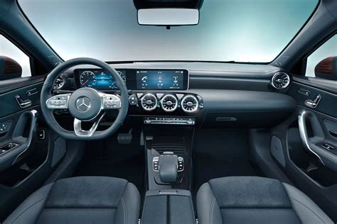 Mercedes Interior 2019 by 2019 Mercedes A Class L Sedan Interior Autobics