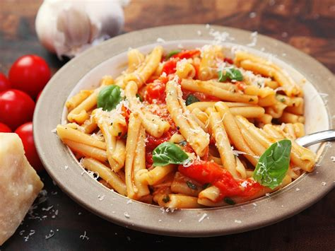 cuisine pasta fast and easy pasta with blistered cherry tomato sauce