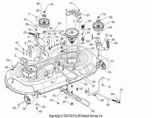 Troy Bilt 13ak79bt011 Horse 46 Hydro  2018  Parts Diagram