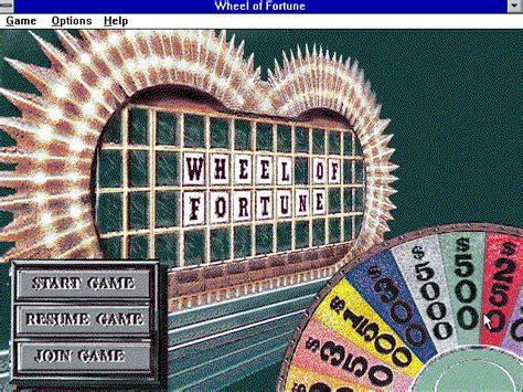 fortune wheel deluxe windows game abandonware