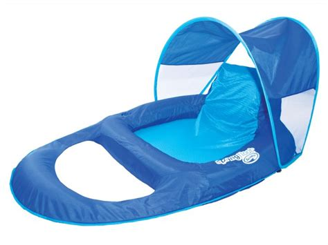 swimways spring float recliner pool lounge chair  sun