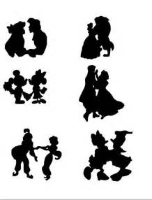 Ariel And Eric Pumpkin Stencil by Cinderella Custom Disney Silhouette Princess Handmade