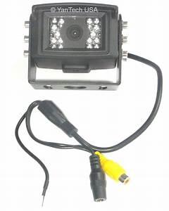 Ccd Color 700tvl Rear View Backup Camera