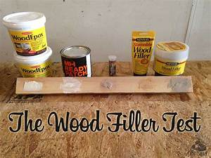 The Wood Filler & Epoxy Test (Year 1) The Craftsman Blog