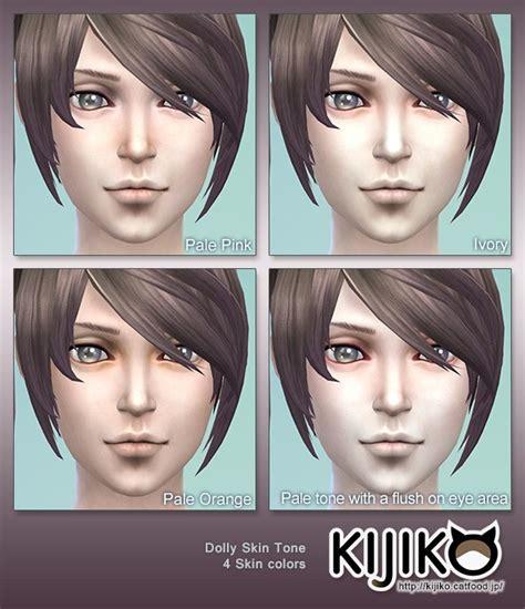 dolly skin tones  eyes  kijiko sims  updates