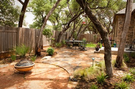 cedar park landscaping traditional patio by