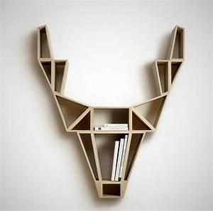 Etagere Murale Design Bois : etagere murale geometrique ~ Melissatoandfro.com Idées de Décoration