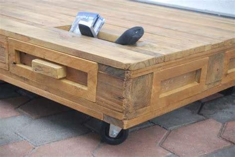 Table basse palette roulettes tiroirs MEUBLES - Du00c9CORATION TABLES BASSE u00e0 Cadaujac- REFERENCE ...