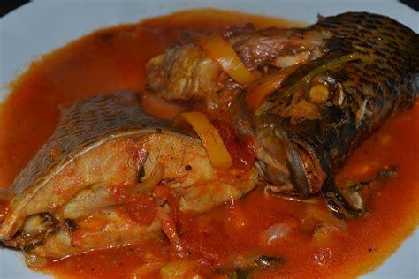 cuisine africaine lanmoumou dessi sauce de poisson frais fresh fish soup