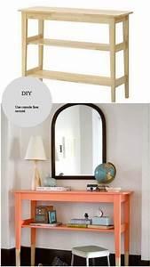 Console Meuble Ikea : customiser une console ikea un diy pour un meuble mis en ~ Voncanada.com Idées de Décoration