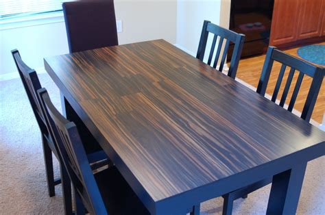 hardwood flooring table top re think your table top