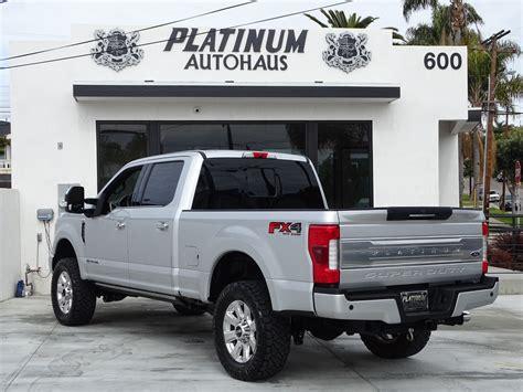 ford   super duty platinum ultimate