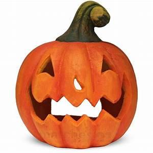 Gruselige Halloween Deko : jack o 39 lantern halloween deko k rbis gruselige fratze laterne 23x27 cm ton kaufen matches21 ~ Markanthonyermac.com Haus und Dekorationen