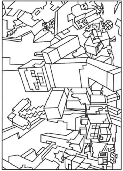 Coole Minecraft Witch Kleurplaat by Minecraft Kleurplaat Jouwkleurplaten