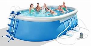 Bestway Pool Set : bestway oval fast set pool komplett set 488x305 56447 ~ Eleganceandgraceweddings.com Haus und Dekorationen