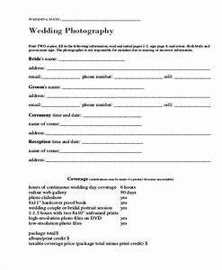 Free release forms for Wedding photo release form