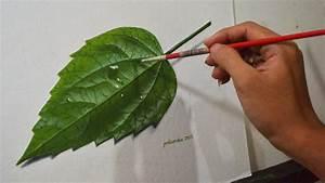 Image Gallery leaf painting