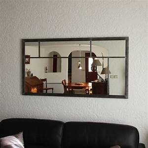 Miroir Deco Salon : miroir eurus 140cm art industriel ~ Melissatoandfro.com Idées de Décoration