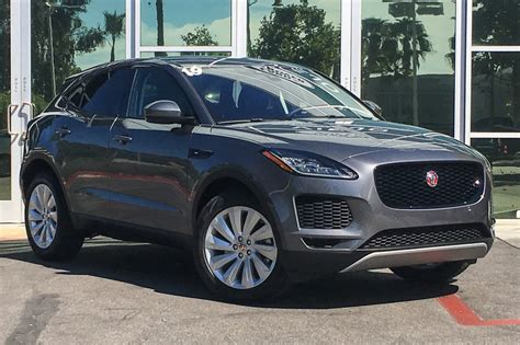 2019 Jaguar E Pace 2 by Pre Owned 2019 Jaguar E Pace Se Sport Utility In Mission