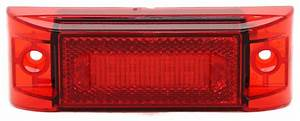 Red Piranha Led Clearance  Side Marker And Turn Light Peterson Trailer Lights M353r