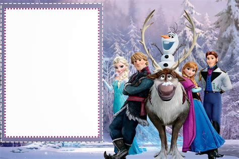 frozen  printable cards  party invitations
