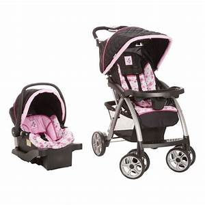Baby Stroller Travel System for Girls Car Seat 3in1 ...