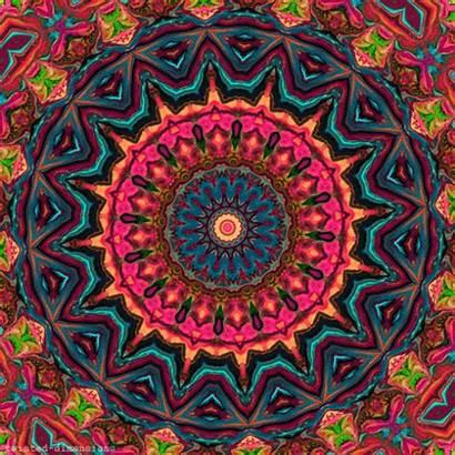 Psychedelic Trippy Mandala Trip Acid Hippie Stoner