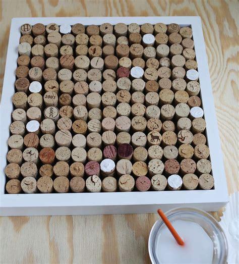 Cork Planters Kreative Bastelideen by Try This Wine Cork Bulletin Board A Beautiful Mess