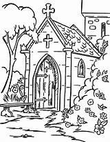 Church Coloring Backyard Faith Sheets Going Place Tocolor Fun sketch template