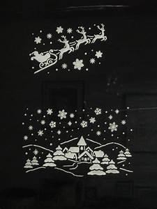 Dcorations De Noel Sur Vitres Quimper Cratif