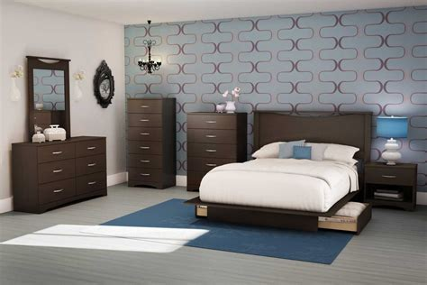 South Shore Contemporary Bedroom Furniture Set With Wooden Nightstand And 6 Drawer Dresser 3 Drawer Nightstand Gray Van Security Drawers White Nursery Wardrobe With C Open Cash Rj11 Gumtree Melbourne Chest Of Pink Plastic Nz Storkcraft Crescent Dresser B And Q