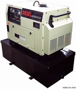 Super Quiet Long Run 6 kW Diesel Generator