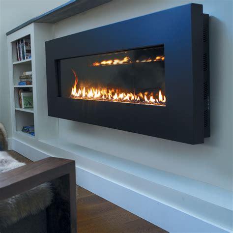 thin wall fireplace stunning rectangular long gas
