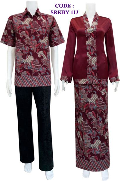 kebaya muslim srkby  koleksi baju batik modern