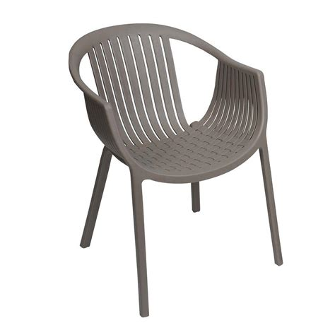 sunjoy basket weave taupe patio dining chair 2 pack